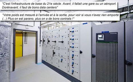 Dans les coulisses d'un data center hyper sécurisé en Wallonie ... - RTL.be | Datacenters | Scoop.it