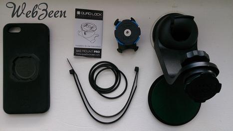 [TEST] Support de téléphone Quad Lock pour vélo, voiture et plus encore… | WebZeen | Tests | WebZeen | Scoop.it
