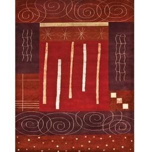 Rugsville Tibetan Pestal Rust Wool & Silk Rug 13038 - DESIGNER | Discount Area Rugs | Scoop.it