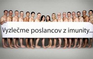 Des élus slovaques se mettent à nu contre leur immunité parlementaire | Mais n'importe quoi ! | Scoop.it