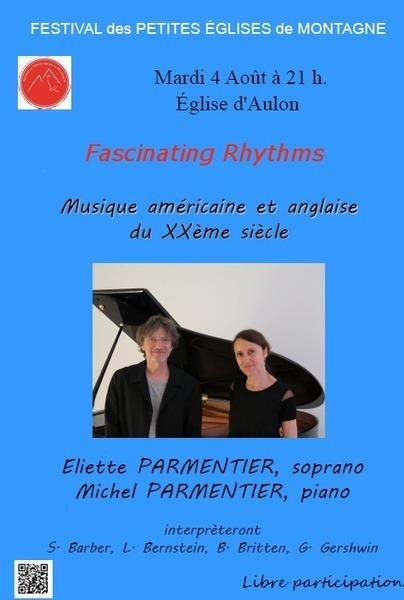 Fascinating Rhythms à Aulon le 4 août | Festival des petites églises de montagne | Vallée d'Aure - Pyrénées | Scoop.it