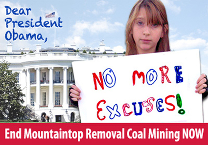 No More Excuses, Mr. President, End Mountaintop Removal Now | EcoWatch | Scoop.it