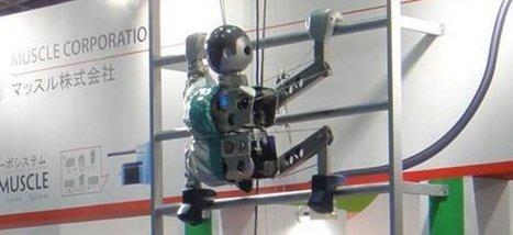 Vidéo : Un robot qui grimpe et descend les échelles   Semageek   Les robots de service   Scoop.it