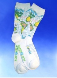 Unique green gifts: Sock Grams global warming socks - Eco Child's Play | Cool Gift Ideas | Scoop.it