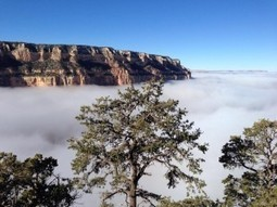 Is this the Most Beautiful Weather Event Witnessed at the Grand Canyon?   Grand Canyon National Park News   Scoop.it