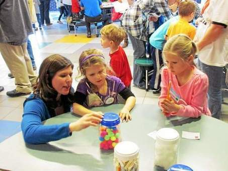 Davisburg Elementary's Math fair makes learning a game - The Oakland Press | 21st Century Literacy and Learning | Scoop.it