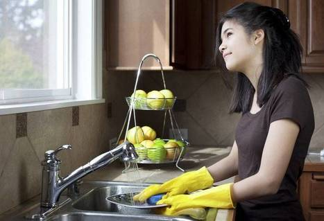 Study Reveals Dish Washing Boosts Your Inspiration, Reduces Nervousness and Prevents Depression | Mindful | Scoop.it