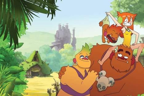 Trolls de Troy en dessin animé dès le 1er décembre | L'actualité BD en un clic | Scoop.it