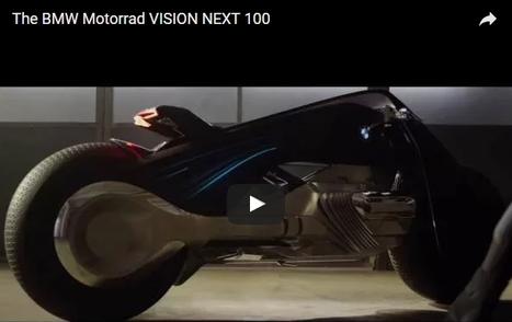 [Vidéo] Avec la moto du futur de BMW, plus besoin de porter de casque ! | La technologie au collège | Scoop.it