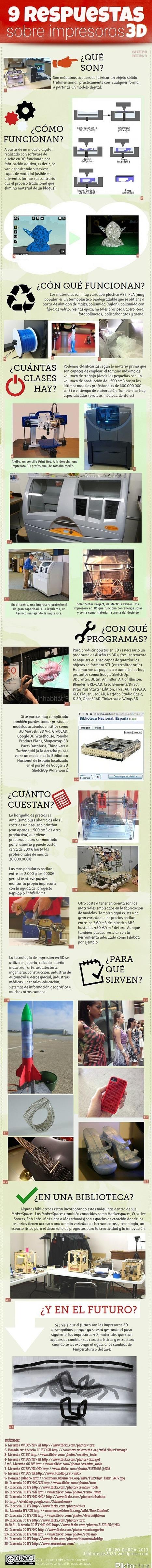 9 respuestas sobre impresoras 3D #Infografía   Programes, aparells, manuals,...   Scoop.it