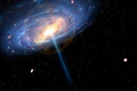 Ça se passe là haut...: Notre Galaxie était un quasar il y a seulement 6 millions d'années | Beyond the cave wall | Scoop.it