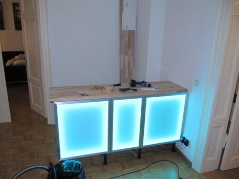 besta wall unit hack ikea hackers homemade. Black Bedroom Furniture Sets. Home Design Ideas