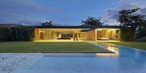 Vaste maison contemporaine en bois et ses murs végétalisés au Costa Rica | Mon Habitat Vert | Scoop.it