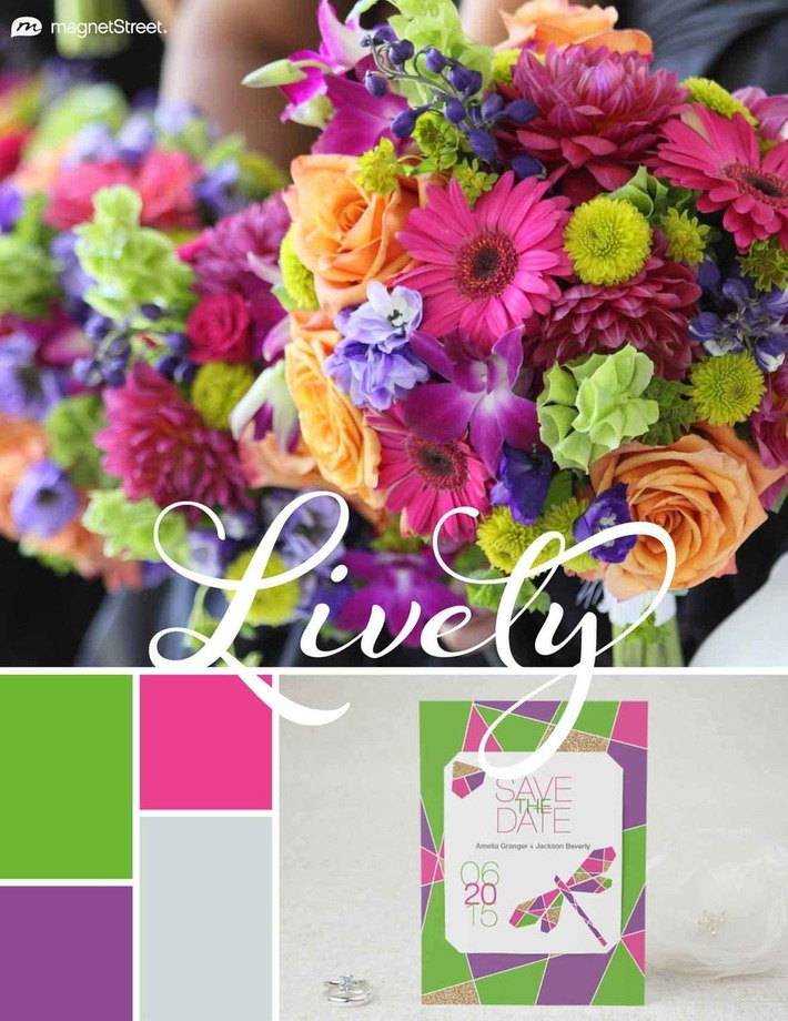 Top 2015 Wedding Color Trends: embrace the colour! | Wedding Ideas | Scoop.it