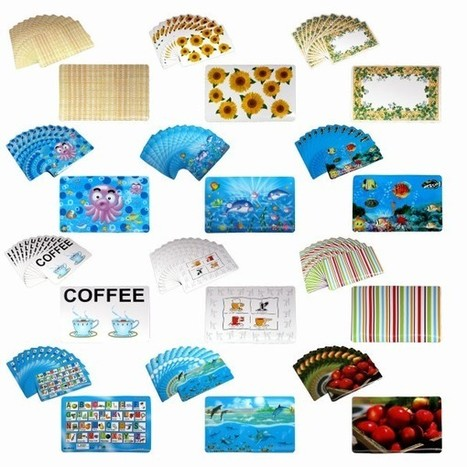 Set of 12 PVC Easy Care Placemats - Manchester House | Soft Furnishings | Scoop.it
