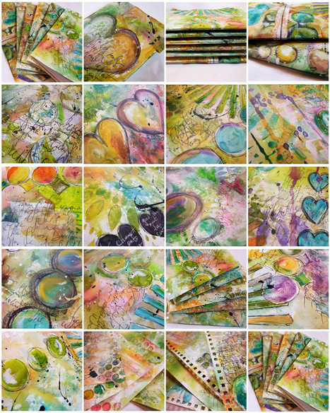 Art Journal Conversion On-Line Workshop... - Every Life Has a Story! | Journal For You! | Scoop.it