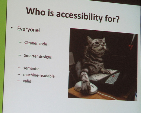How to Evaluate Your Web Pages for Accessibility – ProfHacker - Blogs - The Chronicle of Higher Education | Online Accessibility | Scoop.it