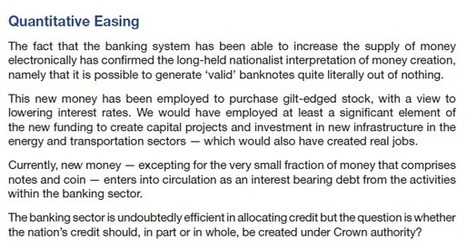 BNP right about answer to banking crisis. | The Indigenous Uprising of the British Isles | Scoop.it