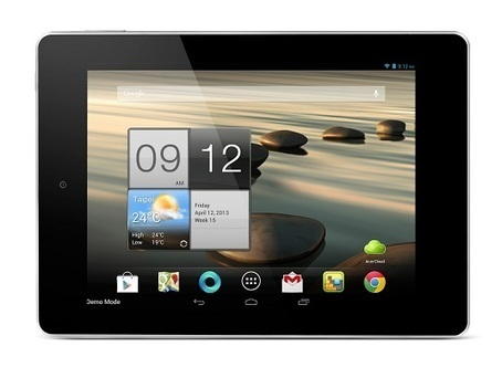 Acer Iconia A1 Android tablet | Geeky Tech Blog | geekytechblog | Scoop.it