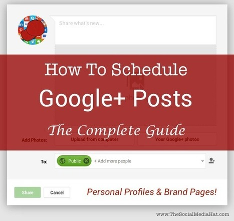 Scheduling Google+ Posts, The Complete Guide | The Eélan Way | Scoop.it