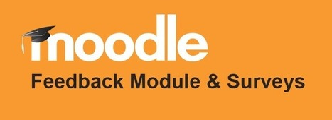 Survey's and Feedback in Moodle | elearning stuff | Scoop.it