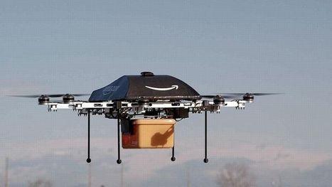 Des mini-drones pour livrer les colis d'Amazon ? | Nouvelle technologie | Scoop.it