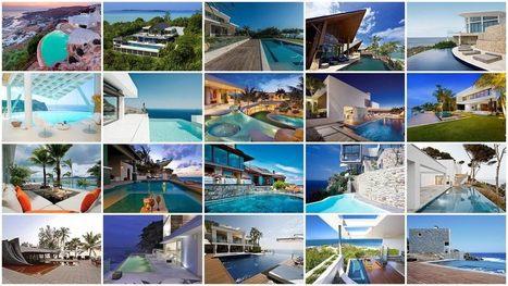 20 villas de rêve en bord de mer avec piscine | Immobilier International | Scoop.it
