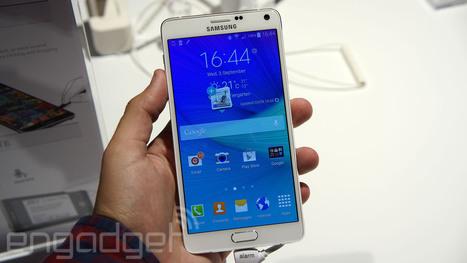 Nuevo Samsung Galaxy Note 4 con pantalla Quad HD | Tecnología 2015 | Scoop.it