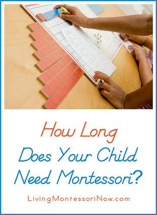 Montessori Monday – How Long Does Your Child Need Montessori? | Montessori Inspired | Scoop.it