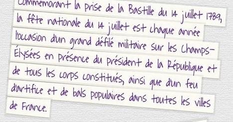 TICs en FLE: Fête nationale française du 14 juillet : quelques ressources | Remue-méninges FLE | Scoop.it