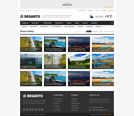 Reganto – Massive Magazine Theme Download | ThanhTrung | Scoop.it