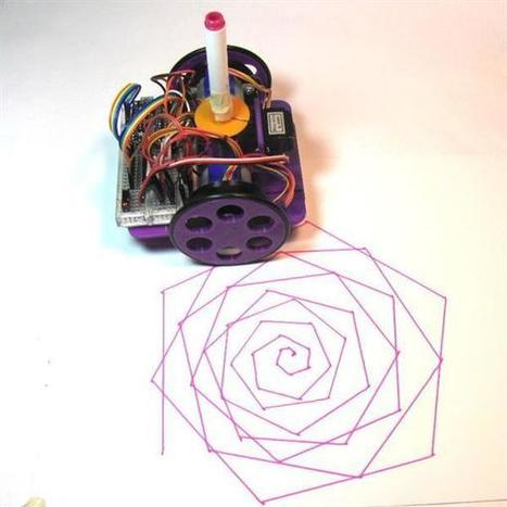 Build a 3D printed, Arduino-powered robot which can draw and write - 3ders.org (blog) | Raspberry Pi | Scoop.it
