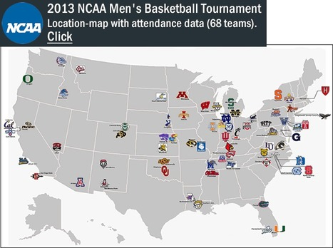 2013 NCAA Men's Basketball Tournament | FCHS AP HUMAN GEOGRAPHY | Scoop.it