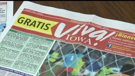 Viva Iowa! Local Spanish Newspaper Launches in Hampton | Spanish in the United States | Scoop.it