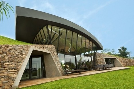 Two Sustainable Homes in Luque: In harmony with the environment... | sustainable architecture | Scoop.it