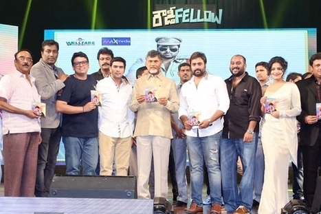 Rowdy Fellow Audio Launched   Wishesh Entertainment News   Scoop.it