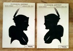Profiles Behind Vintage Silhouette Artists Are Shady | Inherited Values | Antiques & Vintage Collectibles | Scoop.it