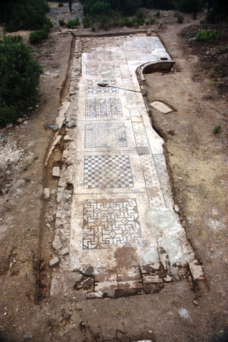 Largest Roman mosaic in Southern Turkey unearthed by archeological team led by Hoff | archaeology | Scoop.it