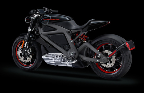 Harley-Davidson unveils its first electric motorcycle | Trends & Design | Scoop.it