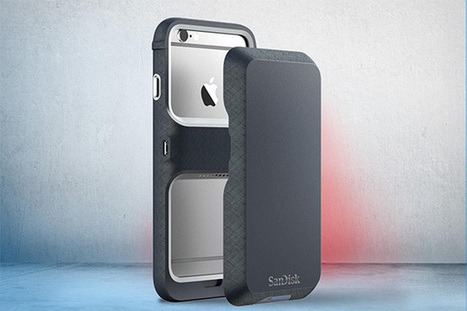 SanDisk iXpand Cases for iPhone 6 could Fix Your Storage Woes | iPhoneography-Today | Scoop.it