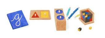 О Google, дудл и Марии Монтессори | Логопедия для нас | Логопедия для нас | Scoop.it