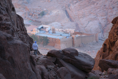 Meet the only tourist visible in the heart of Sinai | Egyptology and Archaeology | Scoop.it