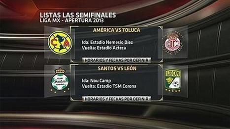 Así se jugarán las Semifinales del Apertura 2013 | Deportes | Scoop.it