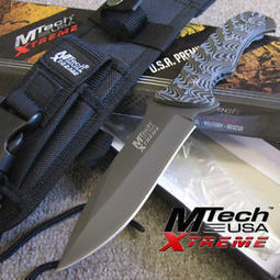 MTech XTREME - TACTICAL Fighting KNIFE w/MOLLE Sheath - Combat Hunting - MX-8064 | Survival Knives by Edge Survival Knives.com | Scoop.it