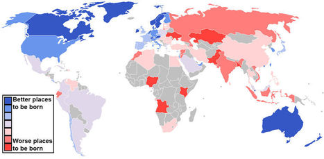 40 Maps That Show How The World Works | Human Geography | Scoop.it