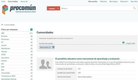 Las comunidades virtuales de práctica y aprendizaje | Blog de INTEF | Educación y TIC | Scoop.it