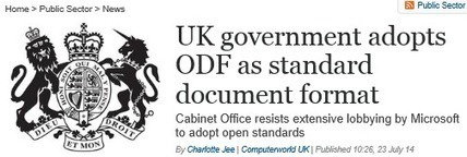 UK Government Mandates Open Document Format!  A Brave or Foolhardy Decision? | Digital rights | Scoop.it