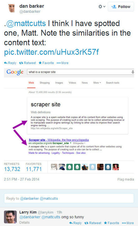 When Good Tweets Go Bad Matt Cutts Burned on Twitter, Hilarity ... | Digital Marketing | Scoop.it