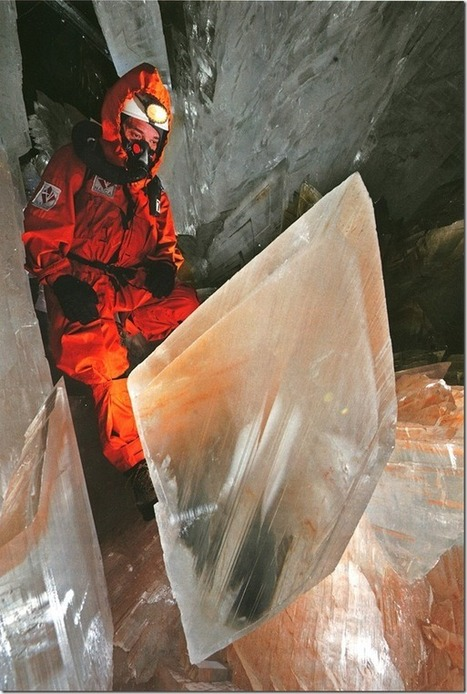 The beautiful nature » The cave is huge crystals. | Why Geology Rocks | Scoop.it