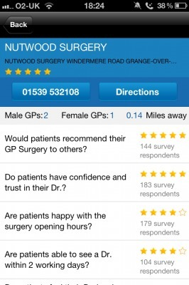 GP Ratings is a different type of UK patient education app | Mobile Health Trends | Scoop.it